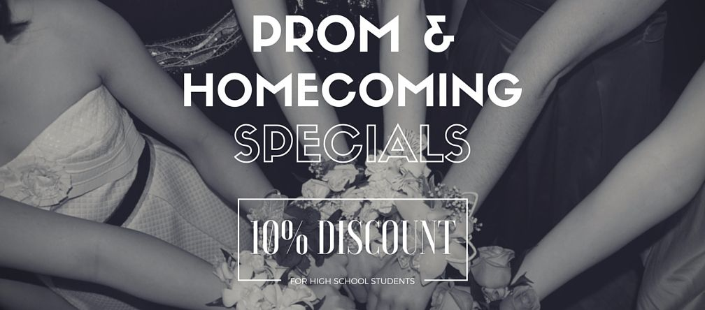 Prom & Homecoming Special Promotion
