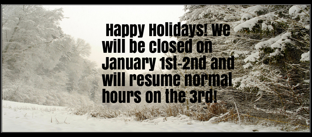 New Year's Hours